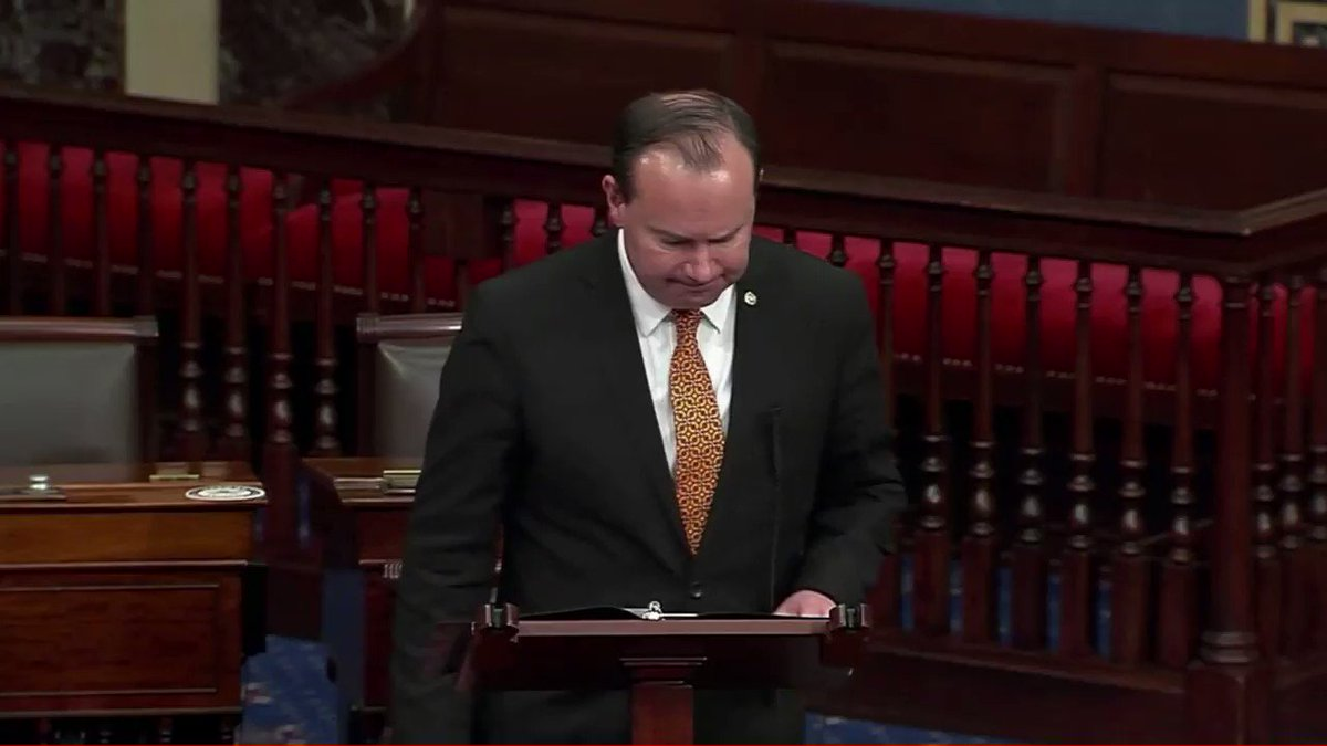 """.@SenMikeLee: """"This bill is riddled with poor economic reasoning and rank political favoritism. It will only worsen our debt and our economic health in the long run."""" https://t.co/kofn4vYIYs"""
