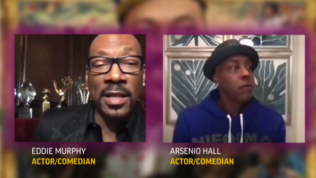 ON THE ROAD AGAIN: Eddie Murphy planned to return to stand up with a tour including Arsenio Hall, Tracy Morgan, Leslie Jones and other #Coming2America comics, but those plans were paused.