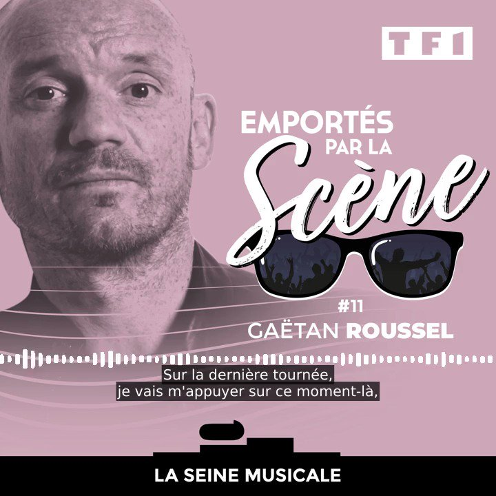 Gaëtan Roussel a hâte de retrouver la scène pour une raison particulière… ⬇  La suite du podcast #EmportésParLaScène de @LaSeineMusicale, c'est ici : https://t.co/CqDS1Dt1qB https://t.co/YQ3vBIsGaw
