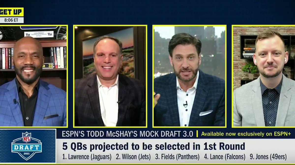 """.@LRiddickESPN would fall out of his chair if the Eagles pass on Ja'Marr Chase at No. 6.  @RealTannenbaum: """"He's the best WR in this draft. ... Ja'Marr Chase, if he had played, may have been the best football player. He'd be in that discussion with Trevor Lawrence."""" https://t.co/wwovuhzA2P"""