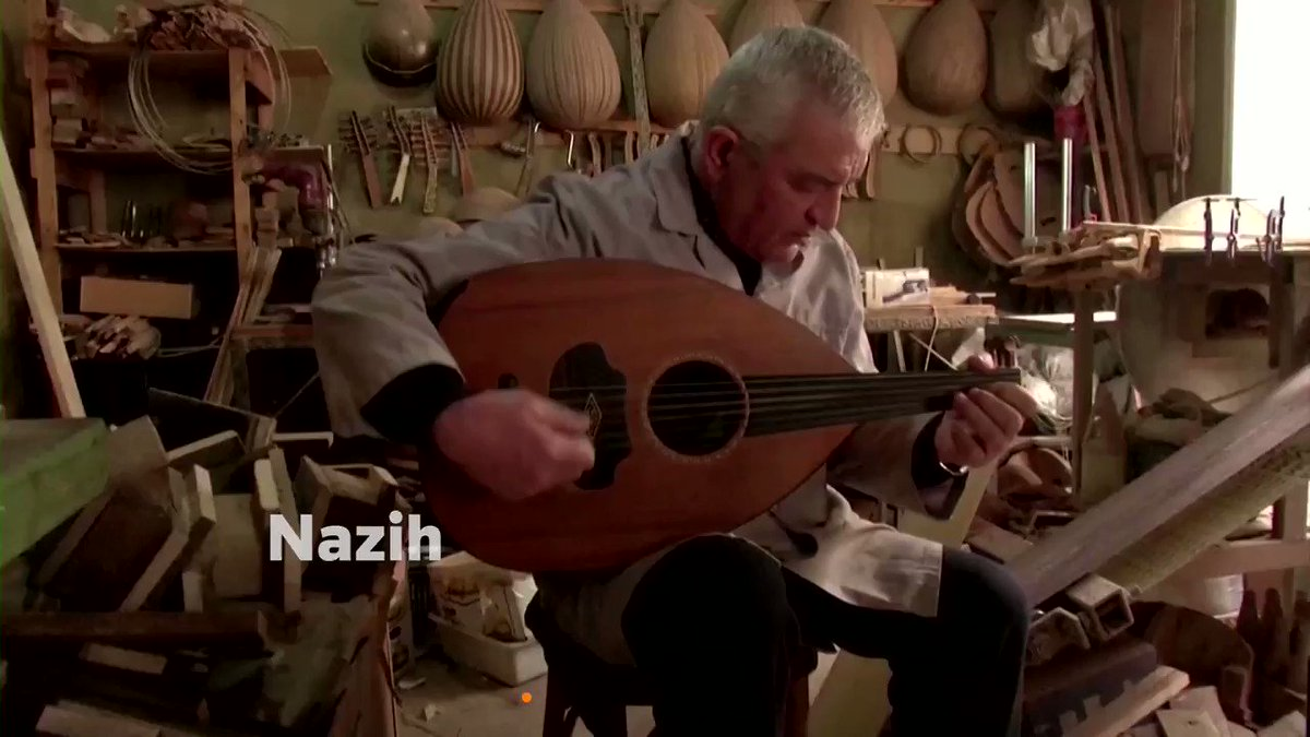 Lebanon's Nazih Ghadban is one of the few remaining makers of the oud, one of the oldest musical instruments in the Middle East https://t.co/W8efCumaIq