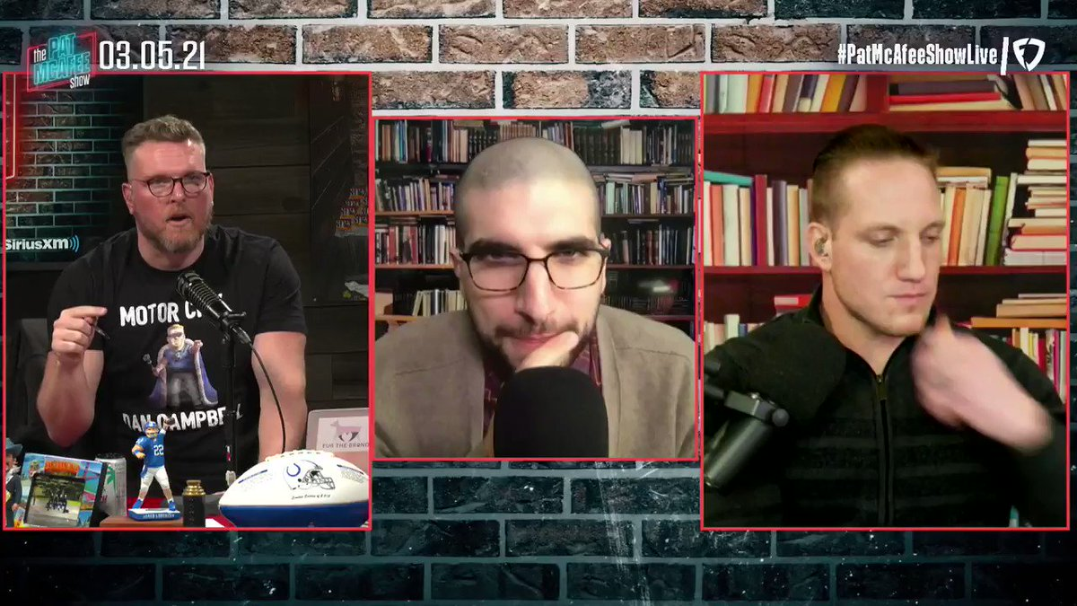 """""""Israel Adesanya is the best athlete competing in sports this weekend""""  @arielhelwani chats about the #UFC card #PatMcAfeeShowLIVE https://t.co/1s2LY5jXIr"""