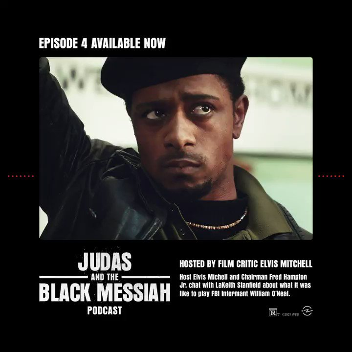 Listen to Episode 4 of the #JudasAndTheBlackMessiah Podcast now: bit.ly/jatbmpodcast In partnership with @radiotopia and @99piorg