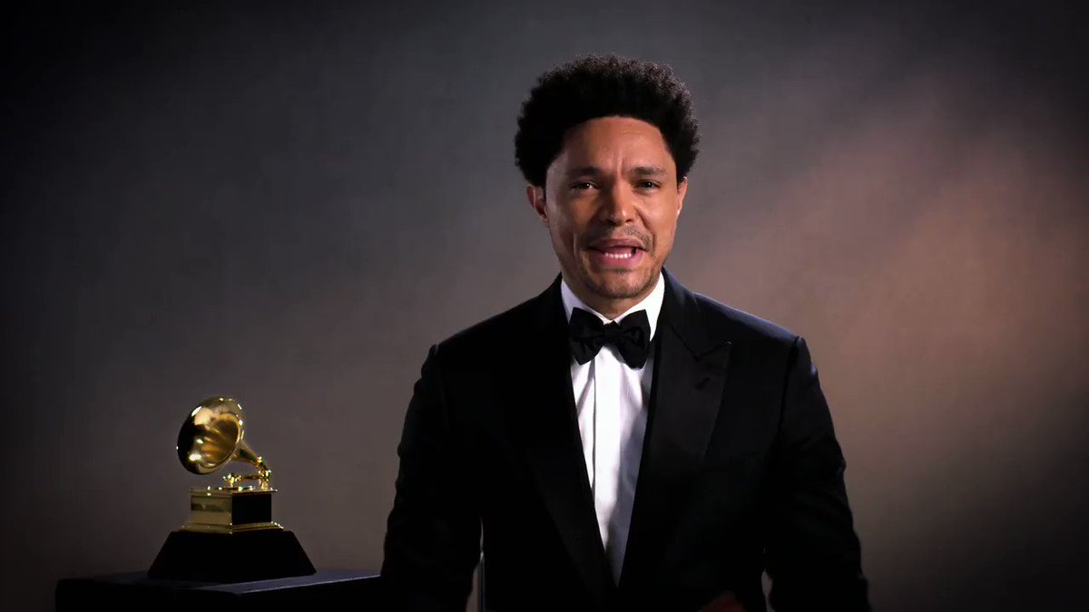 Well, @netflix sounds like a duel is in order...  @Trevornoah vs. @bridgerton's @regejean   Join us next Sunday, for The 63rd Annual #GRAMMYs at 8/7c on CBS.