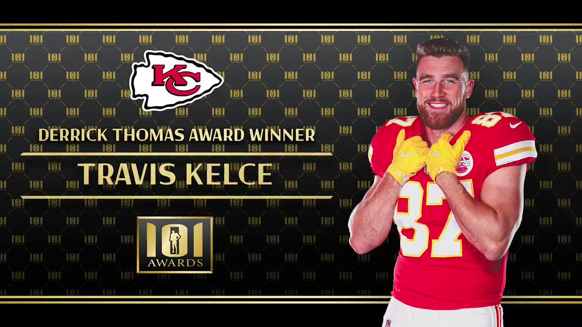 Our Derrick Thomas Award Winner, @tkelce, reflected on the 2020 season with @mitchholthus!