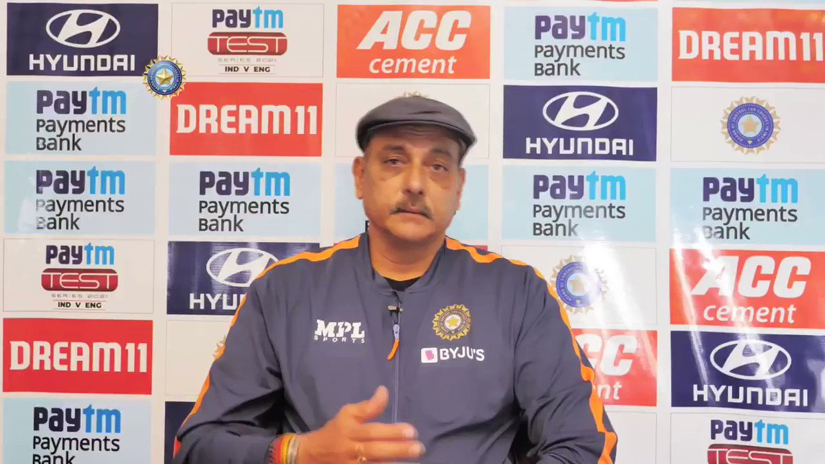 """🗣️ """"One quality that stands out is the fearlessness.""""  #TeamIndia Head Coach @RaviShastriOfc on how the youngsters in the team have risen to the challenge 💪  @Paytm #INDvENG"""