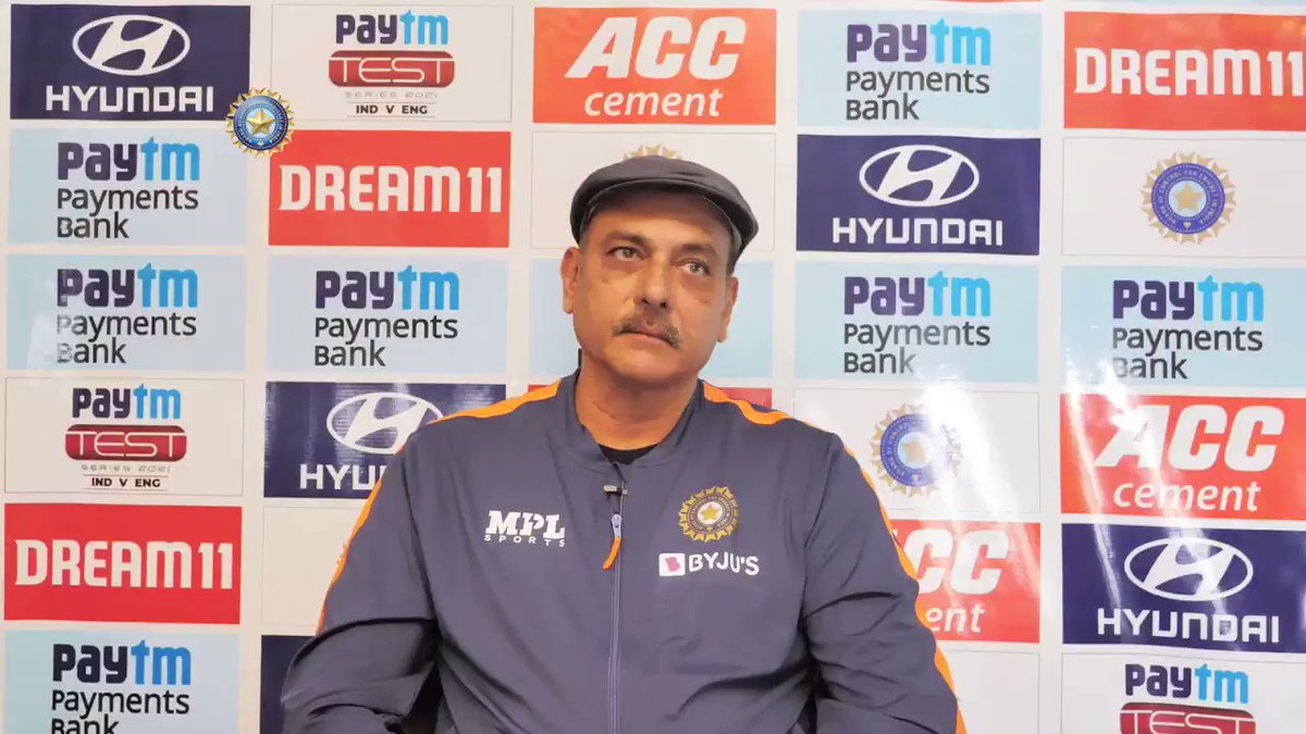"""💬 """"As a coach, I am extremely proud of what the boys have done.""""  @RaviShastriOfc on his journey & learning as #TeamIndia's Head Coach 👌👌  @Paytm #INDvENG"""