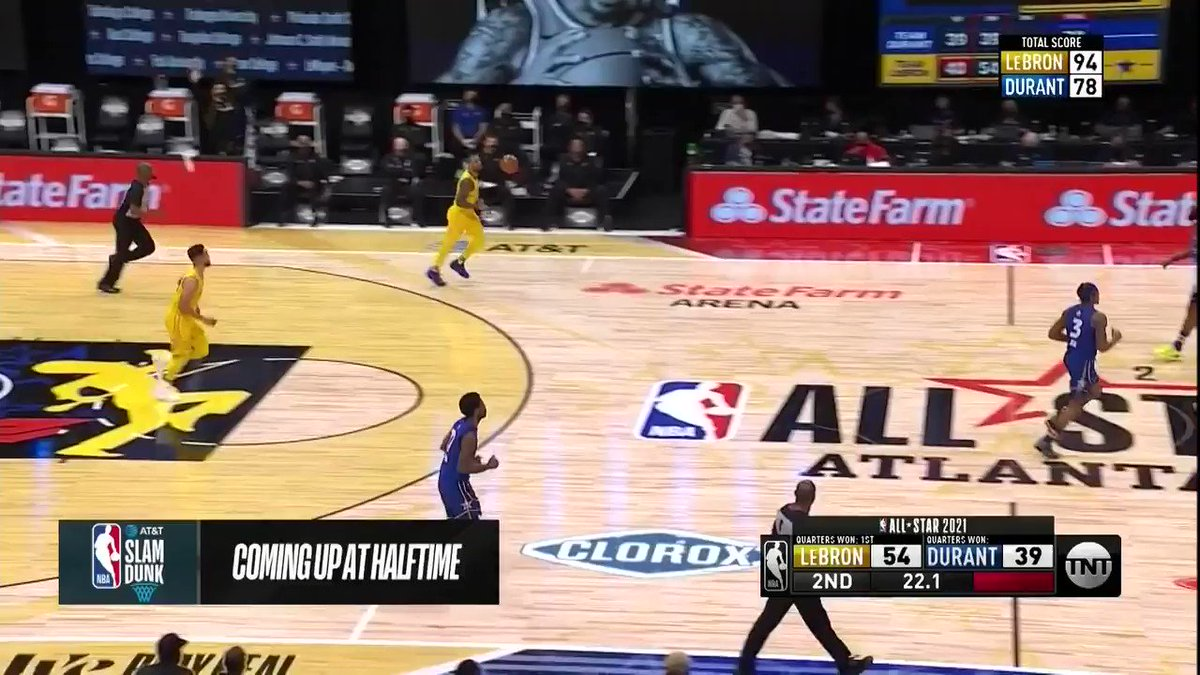 Dame shooting free throws at the All Star Game! We love it!