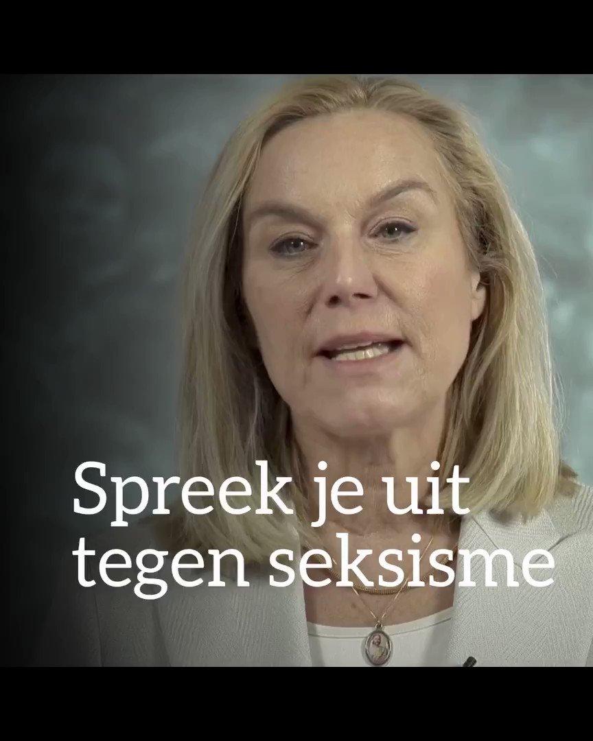 Spreek je uit tegen seksisme