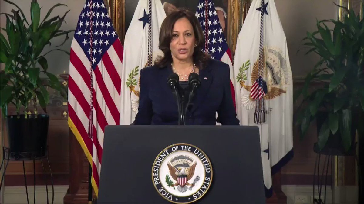 US @VP Kamala Harris on #IWD2021: If we can build a world that works for women, our nations will be safer, stronger and more prosperous. #MakeHerCount @PES_Women