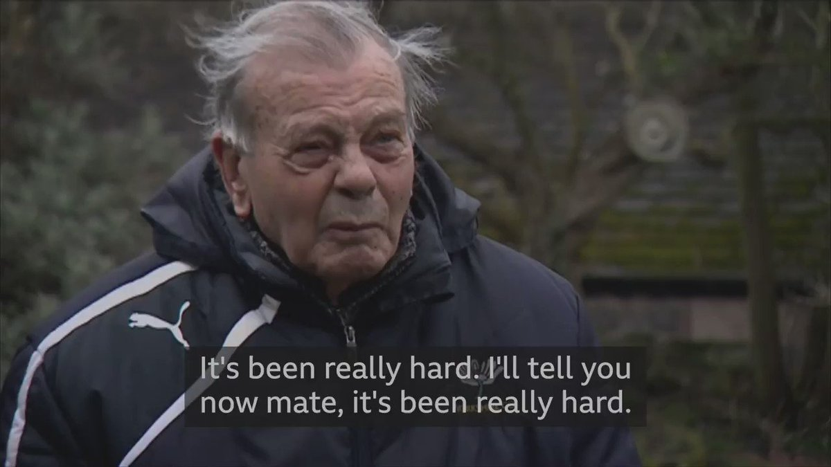 """""""It's been really hard. I'll tell you now mate, it's been really hard.""""   Yorkshire icon Dickie Bird has been shielding on his own for the last year. https://t.co/ZCu8JiUkzk"""