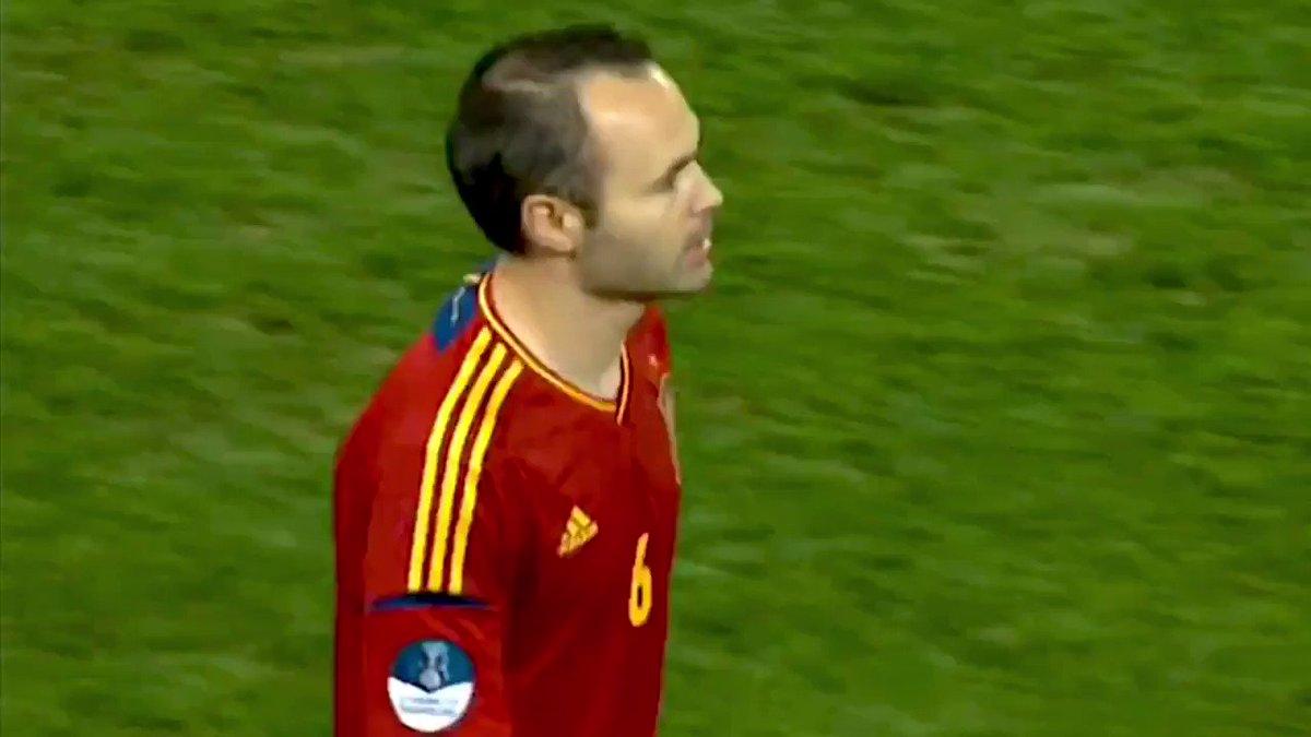 Andrés Iniesta - Euro 2012  https://t.co/tTf0NIC0Yw