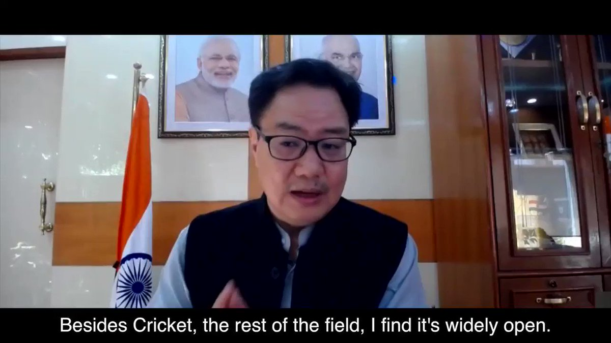 Hon. MYAS Shri Kiren Rijiju echoes how #vivoprokabaddi has paved the way for other indigenous sports with its sustainable league model.   Here's a look.  Video Courtesy: @CIISports  . . . . @KirenRijiju