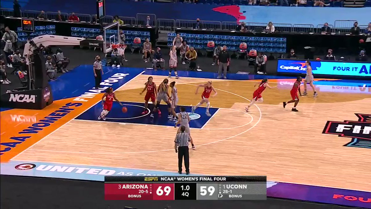 ARIZONA STUNS UCONN AND IS HEADING TO THE NATIONAL CHAMPIONSHIP! https://t.co/ZX73OdqwoF