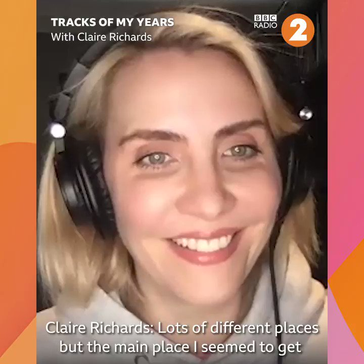 The lovely @_clairerichards from @officialsteps joins @djgarydavies this week to talk through her #TracksOfMyYears. Today she talked about supporting @antanddec on tour and @boyzoneofficial and making the choice between an office job or Steps 🤔🎵