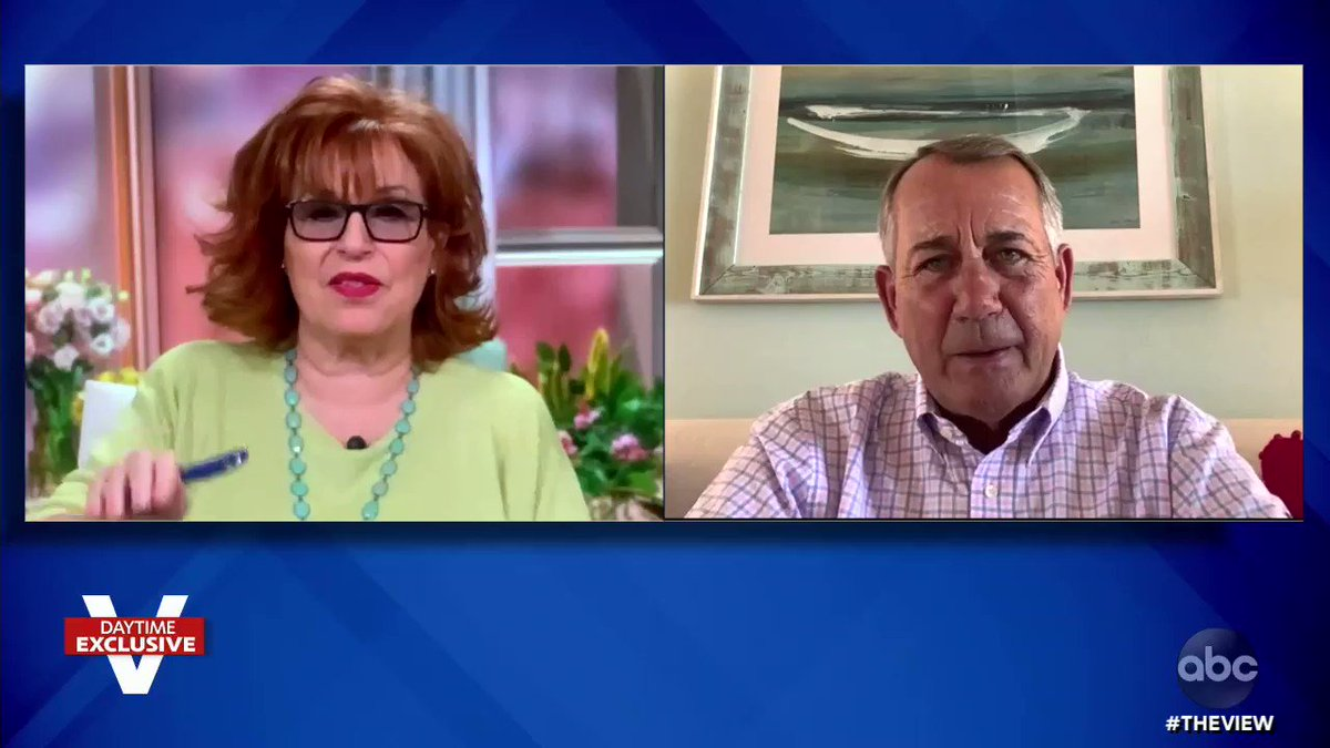 """.@SpeakerBoehner tells @TheView seeing former Pres. Trump promote baseless claims of voter fraud was """"one of the sadder things I've seen in the last 40 years in politics.""""  """"[Trump] abused the loyalty and the trust that voters had placed in him by perpetuating this noise."""" https://t.co/W7dSa5V7Ey"""