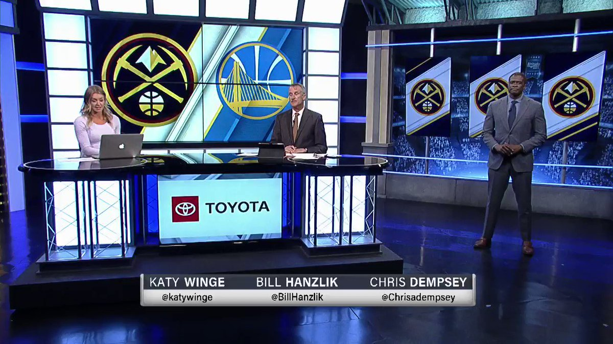 Back-to-back games and back-to-back losses for the @nuggets. Yesterday the Celtics, and tonight the Warriors.  Initial postgame reaction from @katywinge, @billhanzlik, and @chrisadempsey.  #MileHighBasketball https://t.co/PK5gW8iKtl