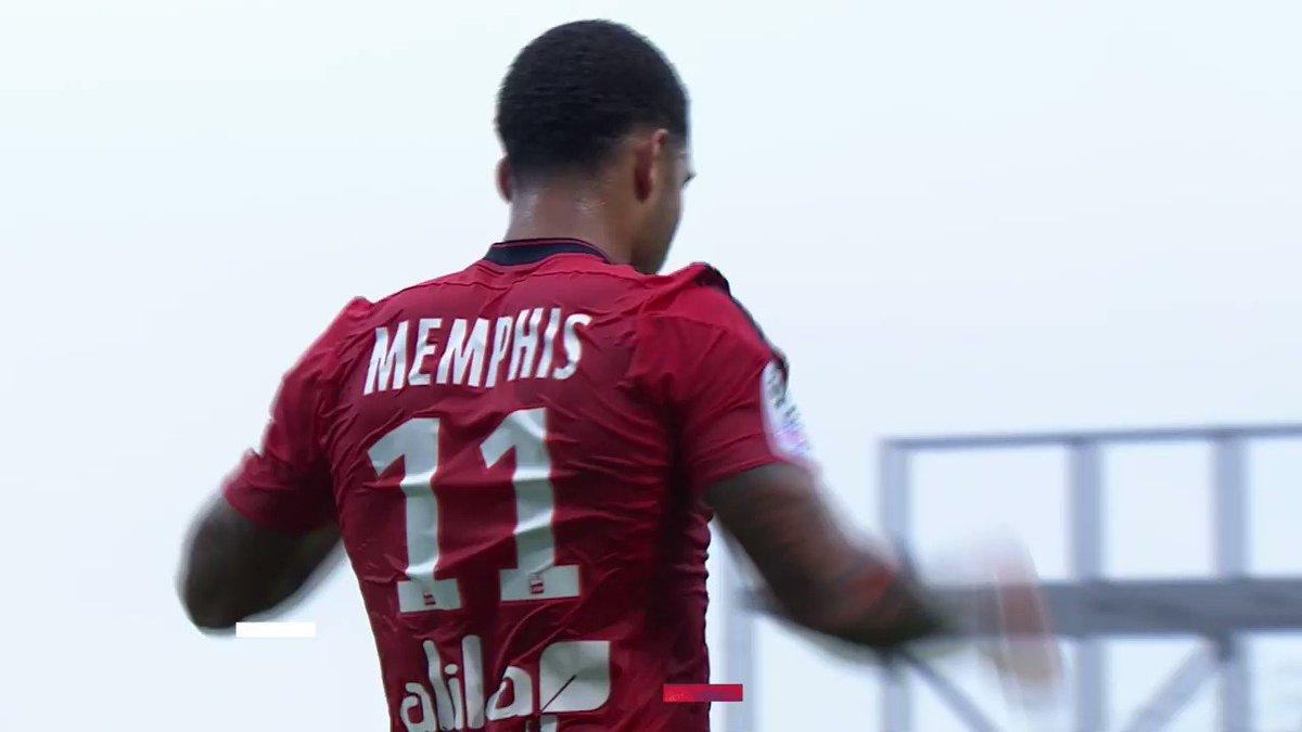 Angers est la proie favorite de @Memphis ! 👉🦁👈  Retour sur les 7 buts inscrits par notre capitaine face au club angevin. ⚽ https://t.co/7YJ50dzGfr