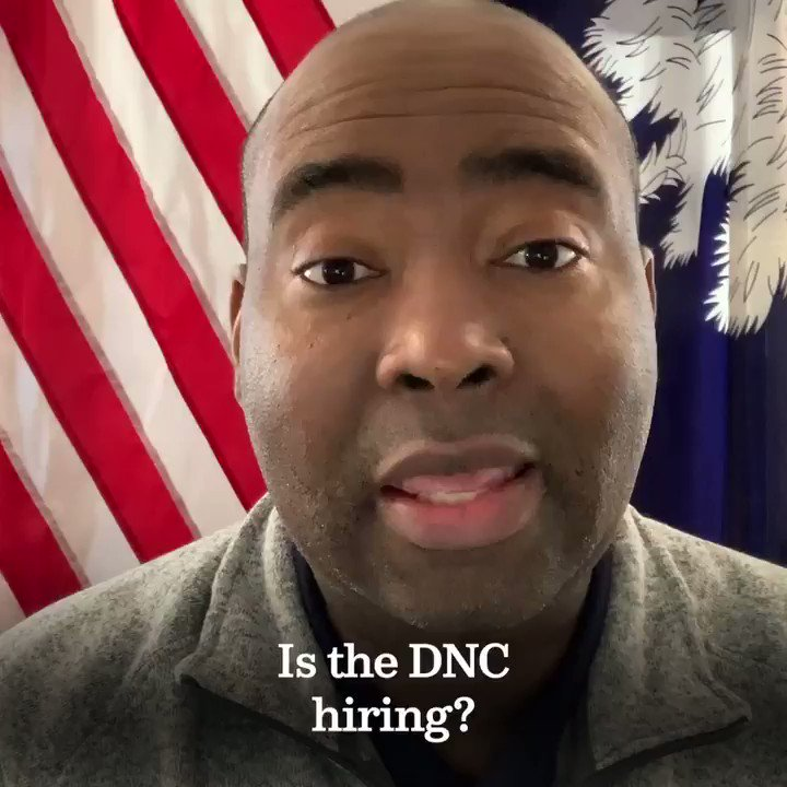 Are you a graphic designer or in tech? Those are just some of the openings at the @DNC. Listen to @harrisonjaime and head to https://t.co/q0kRbT2Lux to join our team! https://t.co/2L9P3A1YU6