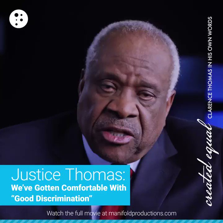 Image for the Tweet beginning: Supreme Court Justice Clarence Thomas