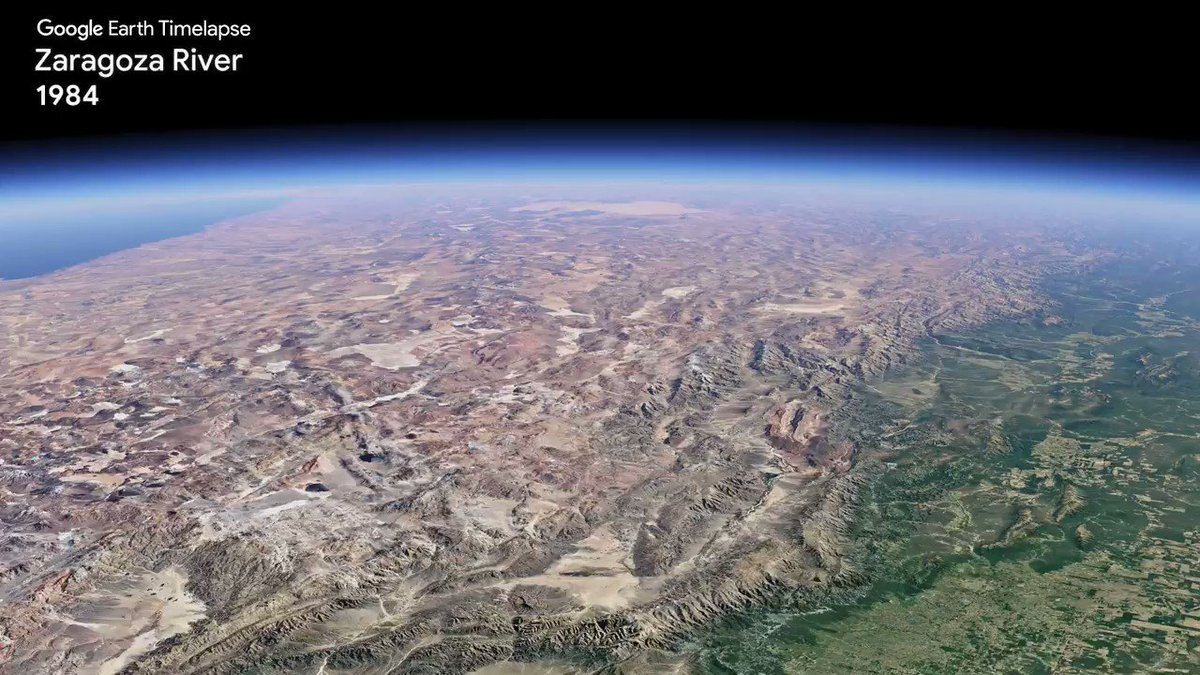 With Timelapse in Google Earth, you can watch (and share!) how the planet has changed since 1984 with 200+ timelapse videos on YouTube.