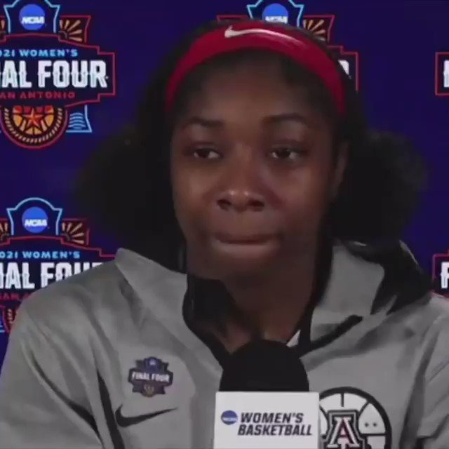 Friendly reminder: It's pronouced AIR-e 😉  The @AtlantaDream select @AariMcdonald No. 3 overall. https://t.co/rdHA72Fh3W
