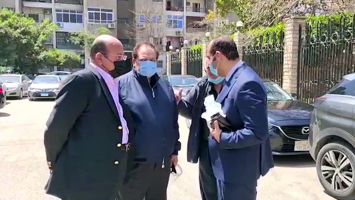 النائب محمد أبوالعينين يشارك في جنازة مكرم محمد أحمد صدى البلد البلد