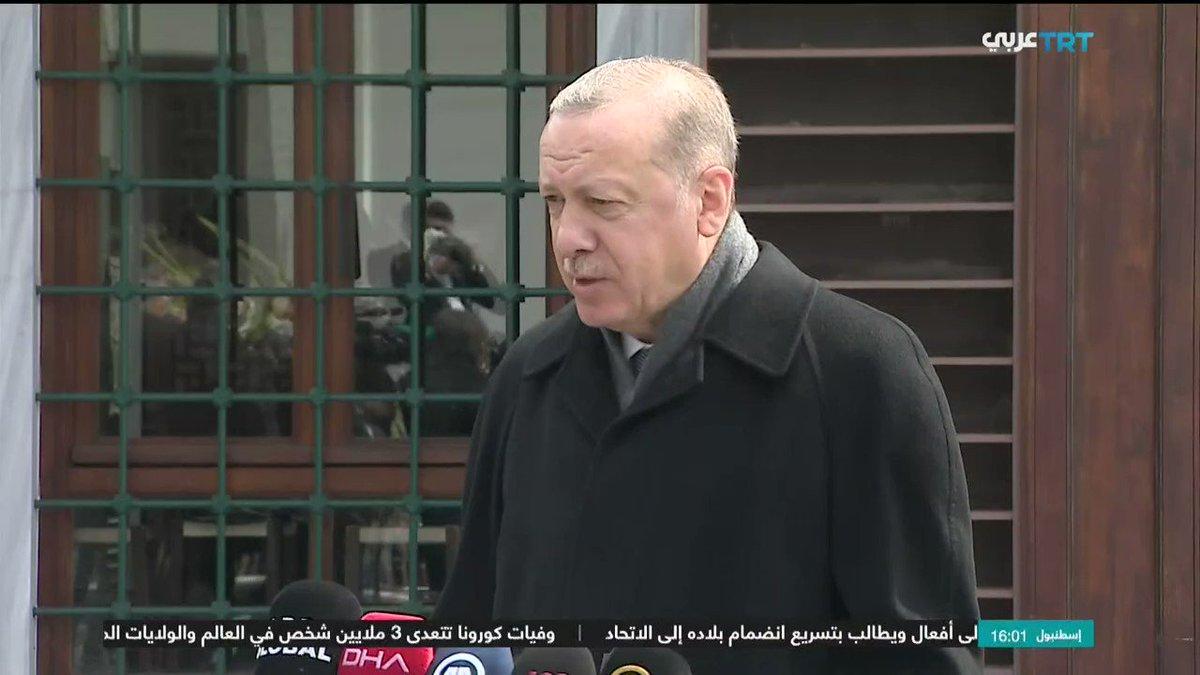بالفيديو الرئيس التركي رجب طيب أردوغان يطالب اليونان باحترام حقوق الأقلية المسلمة 🇬🇷🇹🇷