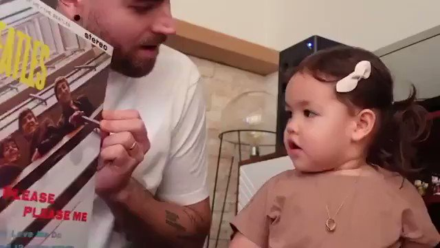 POV: you're two years old and you're the coolest smartest baby ever. 🥺 (📷: @ustheduo)