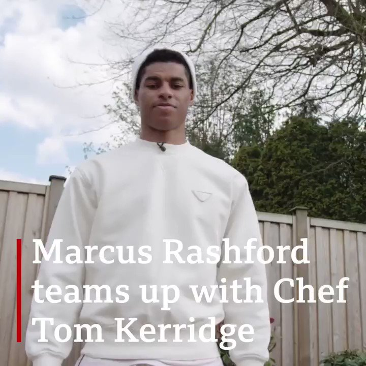 """""""If I could go back as a kid I would have loved to have been able to learn to cook""""   Marcus Rashford has teamed up with chef Tom Kerridge on a project close to his heart 👨🍳  Marcus sat down with @sallynugent to tell #BBCBreakfast all about it ⤵️  https://t.co/cnOuQbzEKk https://t.co/DkCMSRHgSr"""