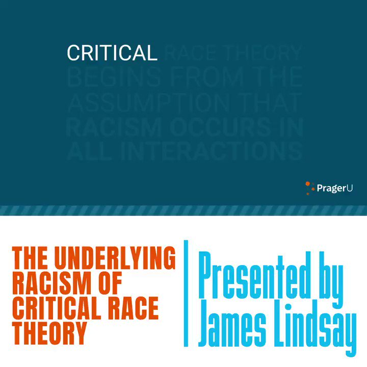 Image for the Tweet beginning: Critical Race Theory will find