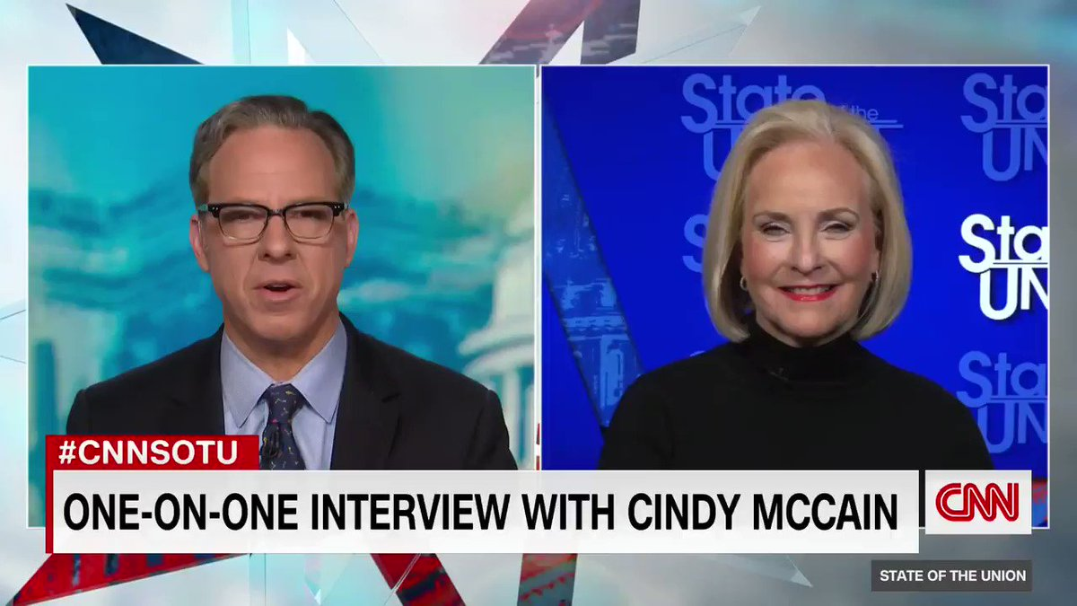 @CNNPolitics's photo on Cindy McCain