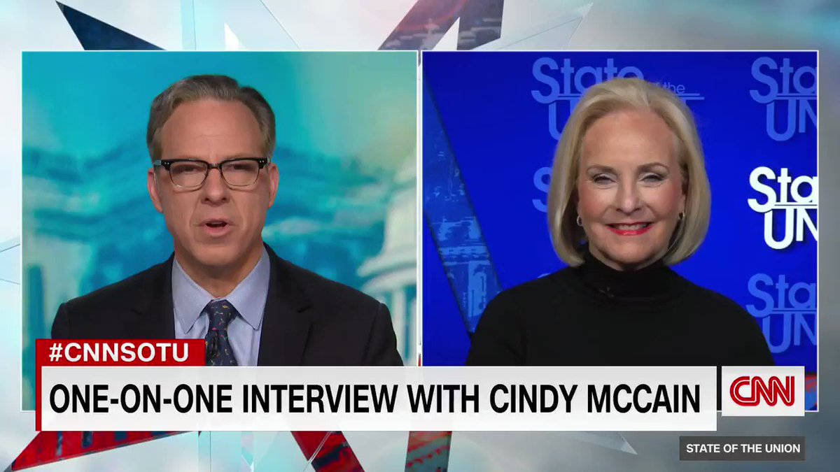 @CNNSotu's photo on Cindy McCain