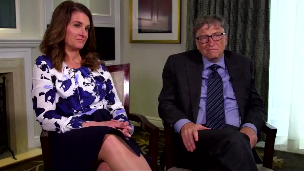 WATCH: Billionaires Bill and Melinda Gates have decided to seek a divorce following 27 years of marriage, the couple said in a joint announcement that rocked the philanthropic world https://t.co/o8QHtRK8kR https://t.co/dM9fYtsEWQ