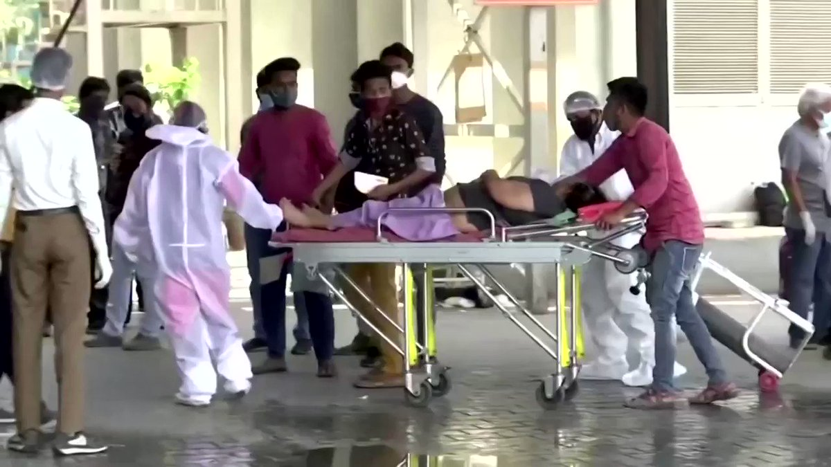 India received coronavirus aid from the United States and the United Kingdom to help the country combat a raging surge of COVID-19 infections amid a shortage of medical doctors and supplies https://t.co/qvsx8Zj7Bn
