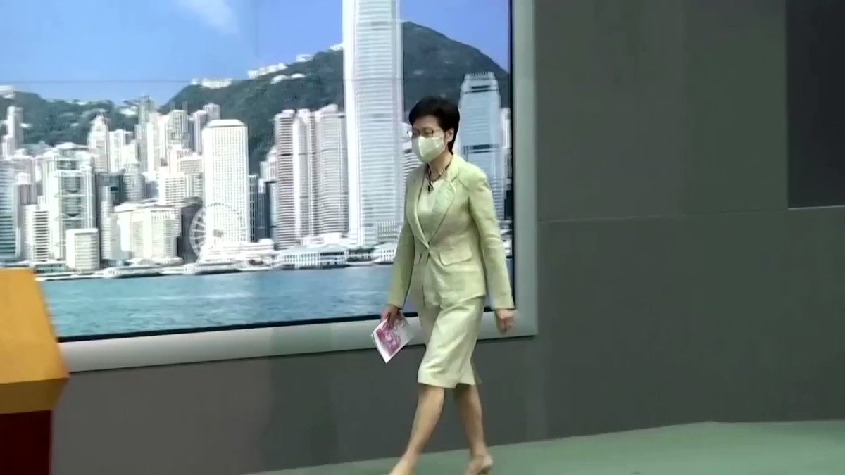 Hong Kong is working on 'fake news' legislation to tackle 'misinformation, hatred and lies,' Chief Executive Carrie Lam said, without giving a timetable, as worries grow over the semi-autonomous city's media freedoms https://t.co/g3rTntP9K3 https://t.co/FIjtO6WO1O