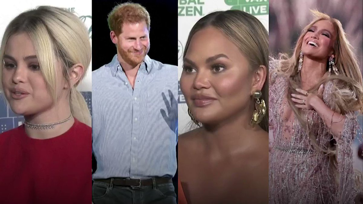 ICYMI: Selena Gomez, Jennifer Lopez and more walk the red carpet for the 'VAX LIVE' fundraiser https://t.co/tfjdO4Npq8