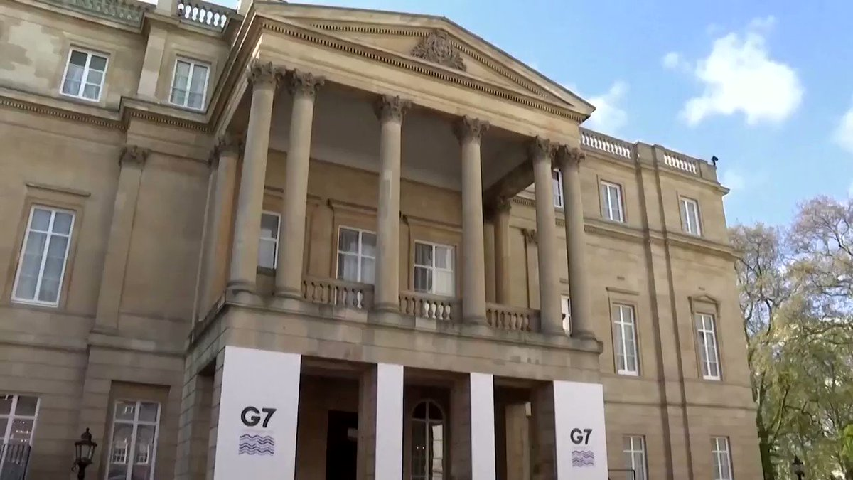The G7 foreign ministers' meeting in London was hit by a COVID-19 scare when India's foreign minister and his entire team said they were self-isolating after two delegation members tested positive. Read more https://t.co/aelcF6ditF https://t.co/G6rBZH5lZr