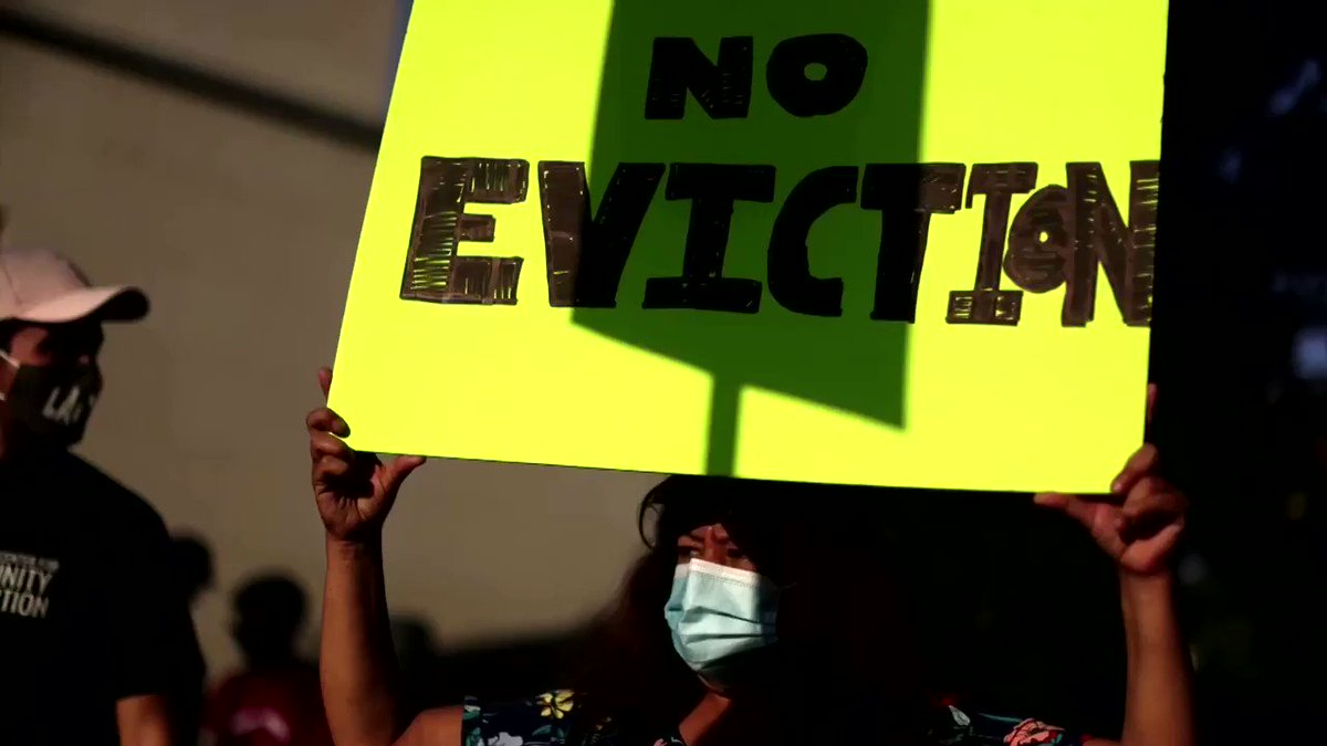 WATCH: A federal judge delivered a setback to millions of Americans who have fallen behind on rent payments and threw out the CDC's nationwide moratorium on evictions https://t.co/B7XZVbUwfc https://t.co/0yapiSgDB7