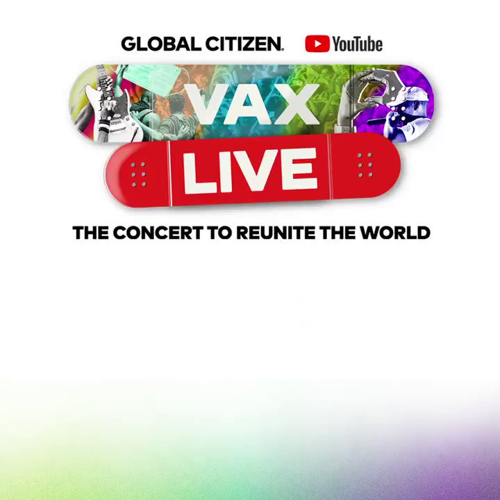 Let's get LOUD 🎵 Set a reminder for #VaxLive: The Concert to Reunite the World, with performances by @jlo @foofighters @JBALVIN @HERMusicx + more. Watch the extended show only on YouTube TOMORROW May 8 at 8pm EST →  #VaxBecause