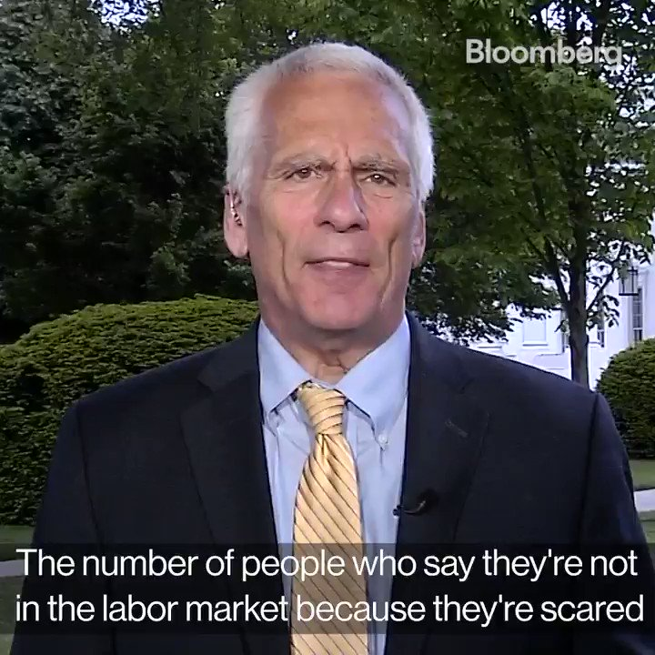@BloombergTV: It's not all doom and gloom in the U.S. jobs number. Here's a take on the upsides of the data from Jared Bernstein, White House Council of Economic Advisers Member