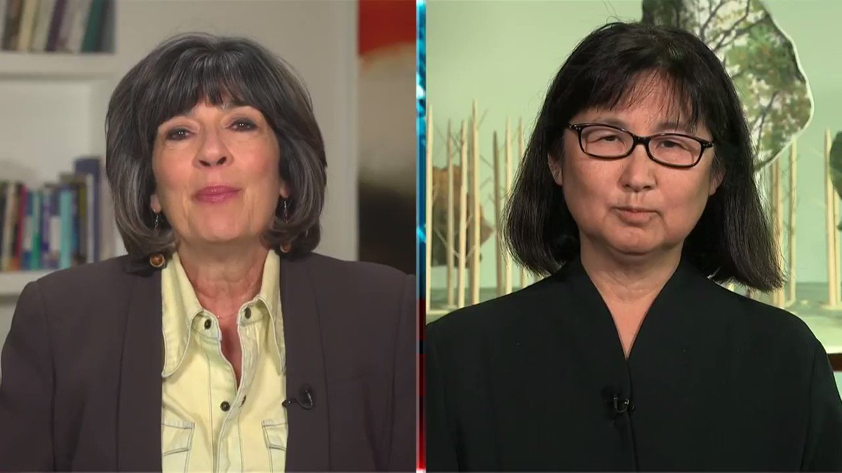 Famed architect and artist Maya Lin talks about planting a 'Ghost Forest' in New York's Madison Square Park and what the past can teach us about the future https://t.co/XL0T11uOec https://t.co/HfDfVdhjpq