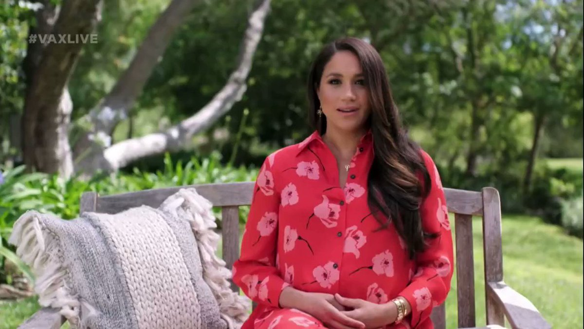 Meghan Markle Talks About Her Baby Girl During Gender Equality Speech | iHeartRadio