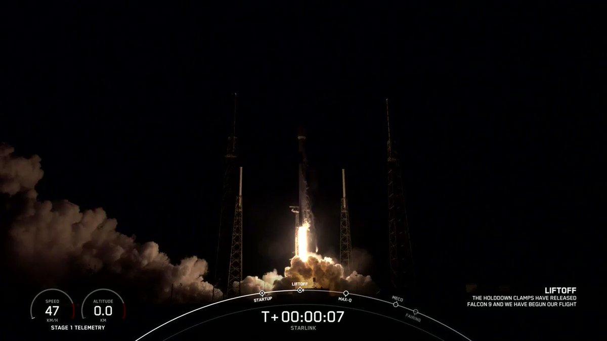 Liftoff! https://t.co/MZ4ct2Spnj