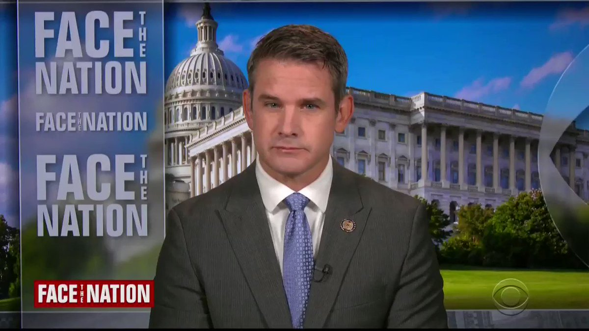 "Rep. Adam Kinzinger (R-IL) likens GOP to ""Titanic"": ""We're in the middle of this slow sink. We have a band playing on the deck, telling everybody it's fine, and meanwhile Donald Trump's running around, trying to find women's clothing and get on the first lifeboat."" https://t.co/L7Wjy87ngV"