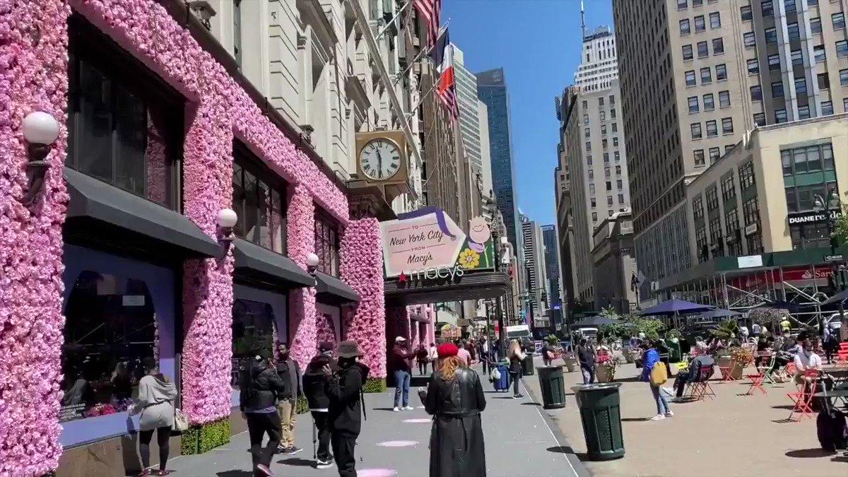 Willkommen bei der Macy's Flower Show!