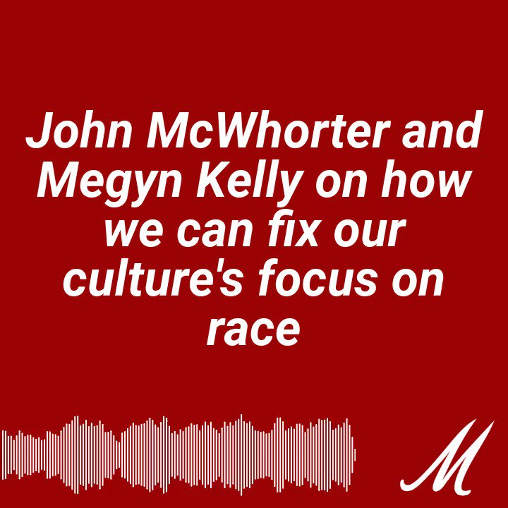 """.@JohnHMcWhorter with thought-provoking advice (see below) as well as thoughts on """"systemic racism"""" in America. We are incredibly lucky to have ppl like John out there thinking about these tough issues & helping us grow our own thinking too."""