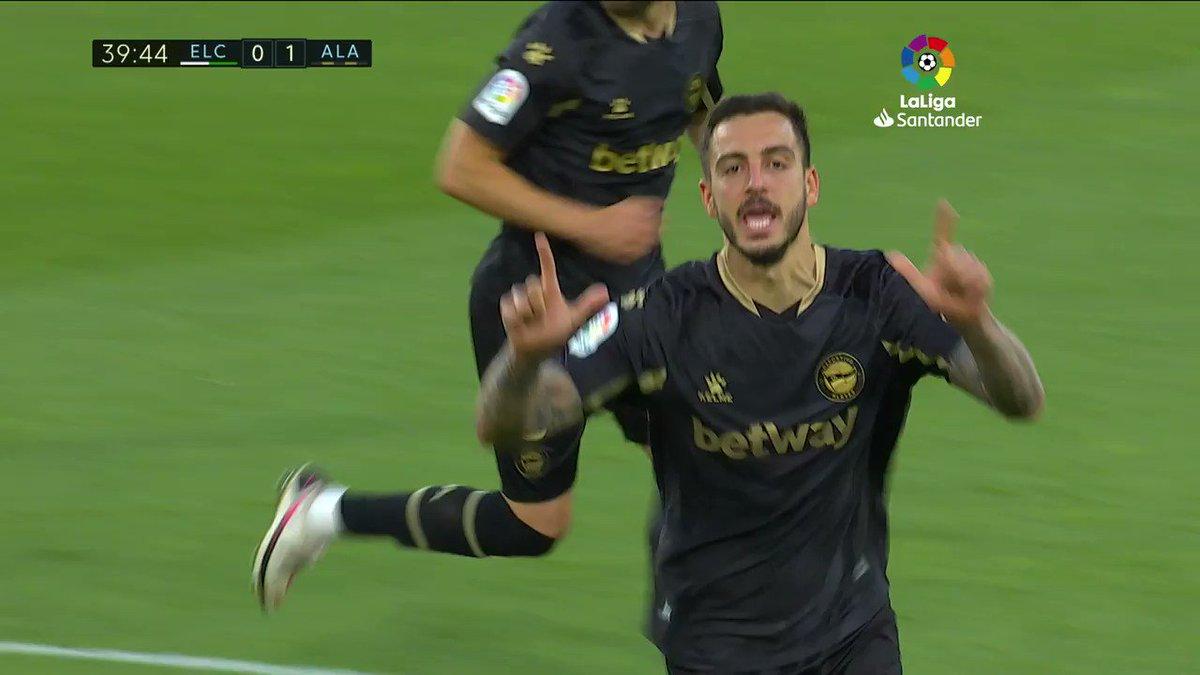 💪🏻 Joselu, empeñado en salvar al 🔥 ¡Décimo gol de la temporada!#⃣