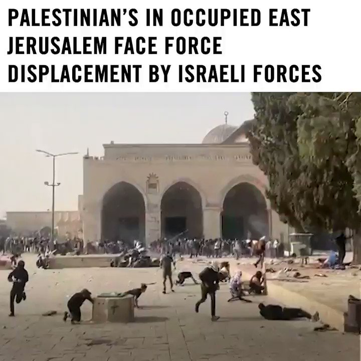 RT @amnesty: Israeli authorities must end the ongoing forced displacement of Palestinian's from East Jerusalem. https://t.co/8gI4Y4pN9b