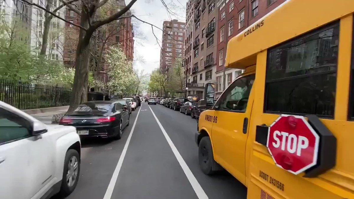 Mit dem Fahrrad rundherum... Gramercy Park 🚲